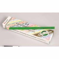 Buntstifte Dreieck Goldline - Heutink - Karton mit 12 Stück -Hellgrün