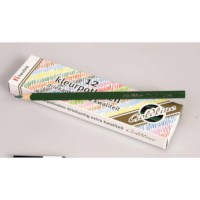 Buntstifte Dreieck Goldline - Heutink - Karton mit 12 Stück - Dunkelgrün