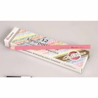 Buntstifte Dreieck Goldline - Heutink - Karton mit 12 Stück - Rosa