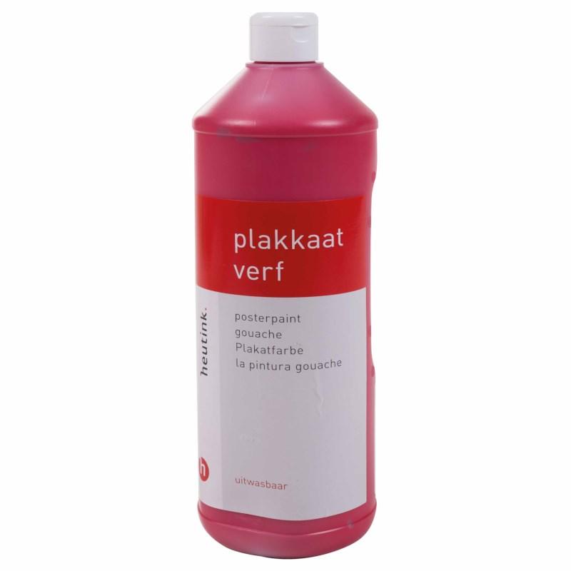 Gouache - Interpaint - 1 Liter - Dunkelrot