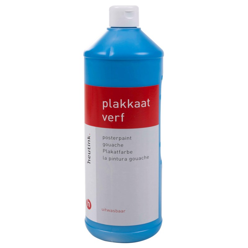Gouache - Interpaint - 1 Liter - Hellblau