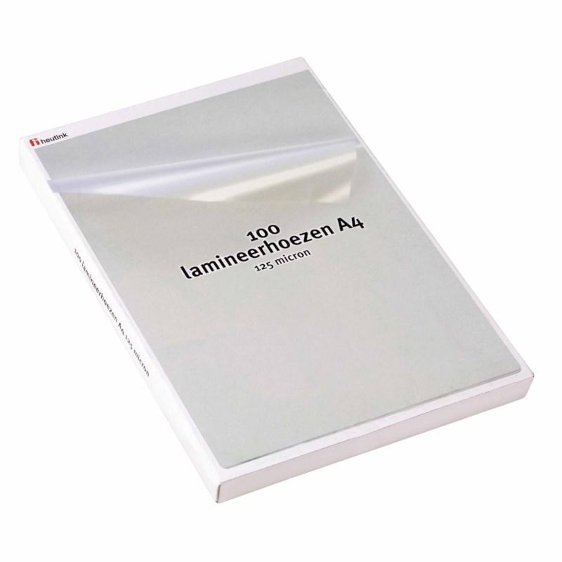 Laminierhüllen Heutink - 125 µ A4 216 x 303 mm