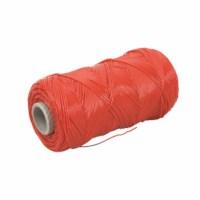 Fädeldraht - Kunststoff - Rot