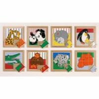 Tier Puzzles Mutter und Kind - Set von 8