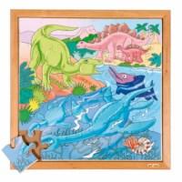 Dinopuzzle - ins Wasser