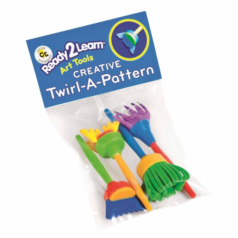 Twirl-a-pattern Kunstwerkzeuge