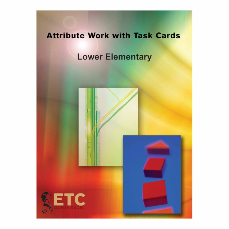 Lower Elementary Attribute Work With Task Cards