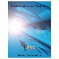 Upper Elementary Attribute Work With Task Cards