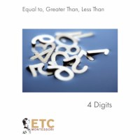 Equal - Greater - Less Than (Up To 4 Digits)