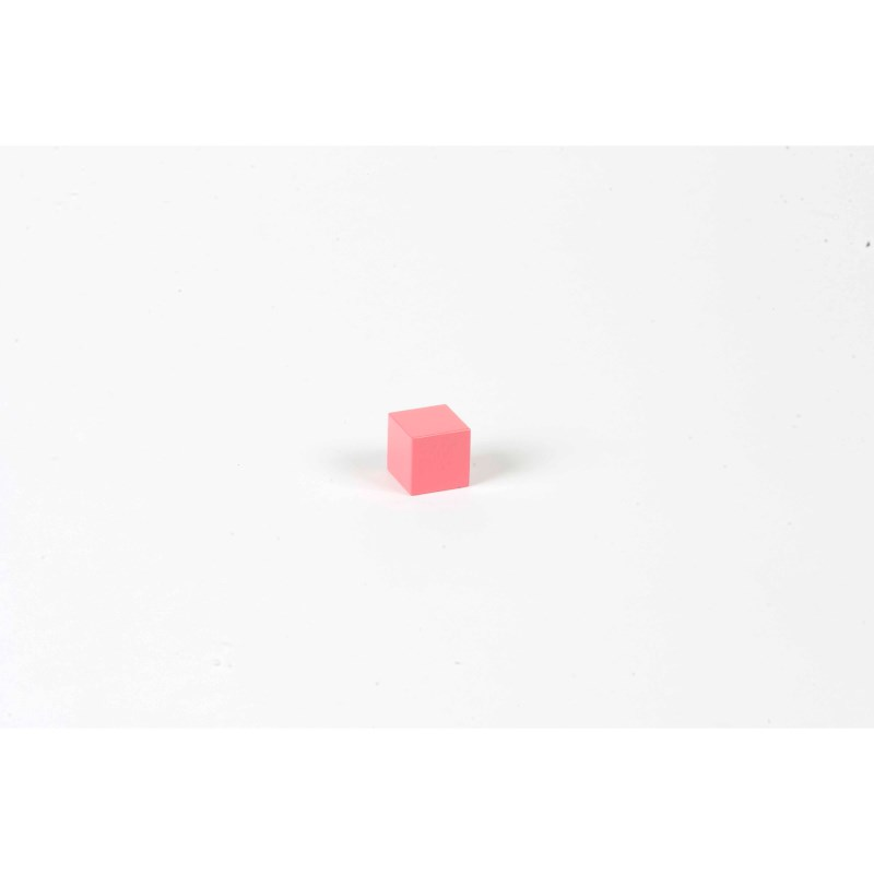 Pink Tower: Cube 2 x 2 x 2