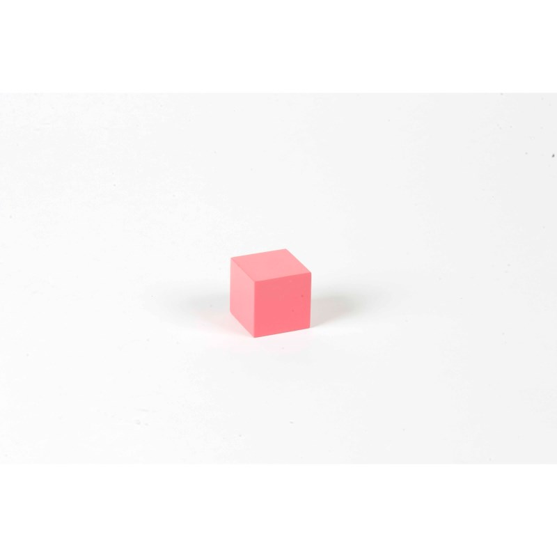 Pink Tower: Cube 3 x 3 x 3
