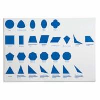Kontrollkarte für die geometrische Kommode (German version)