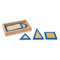 Geometric Plane Figures With Box