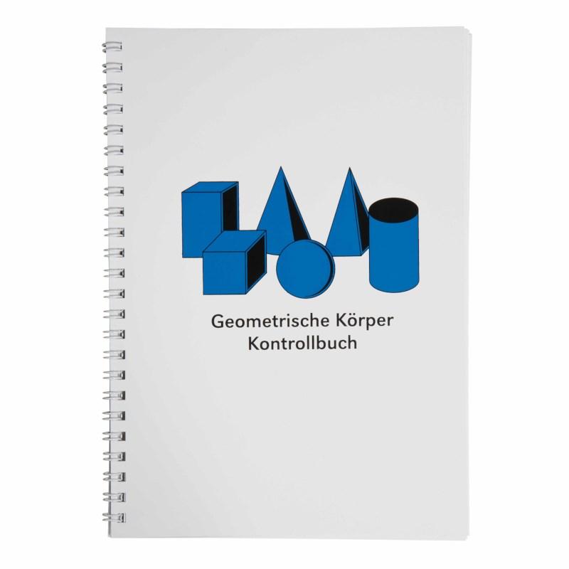 Kontrollbuch für die geometrischen Körper (German version)