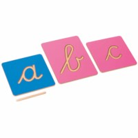 Hollow Letter Shapes: International Cursive