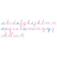 Large Movable Alphabet: US Cursive