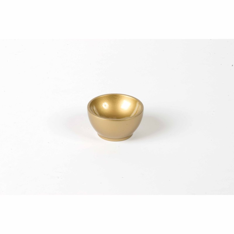 Wooden Cup: Gold