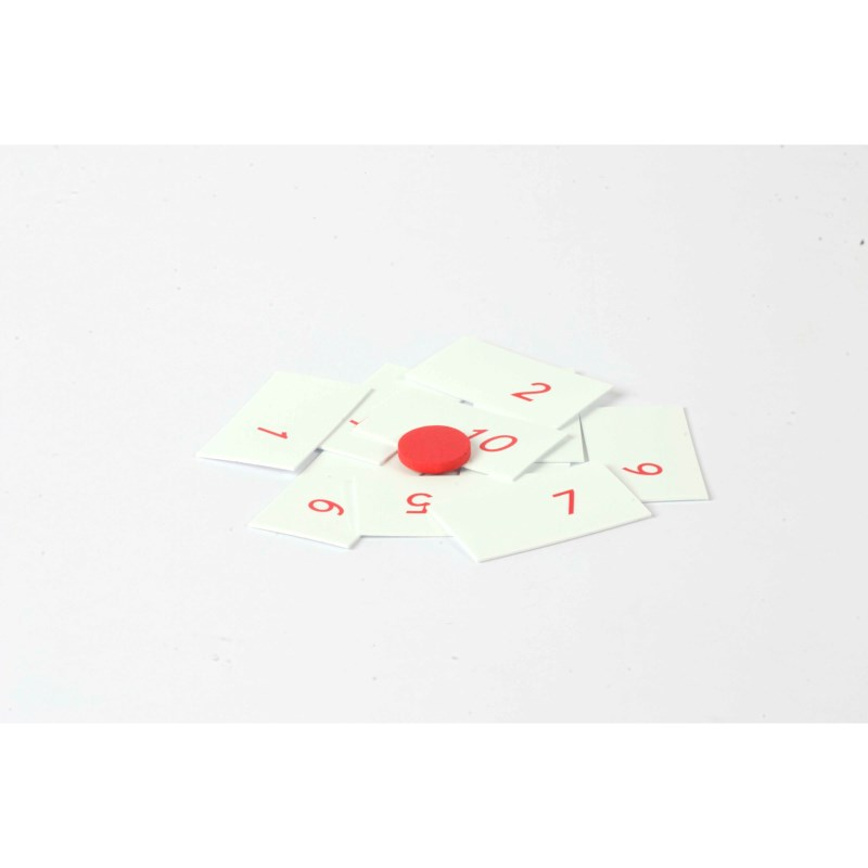 Numbers Only For Multiplication Board