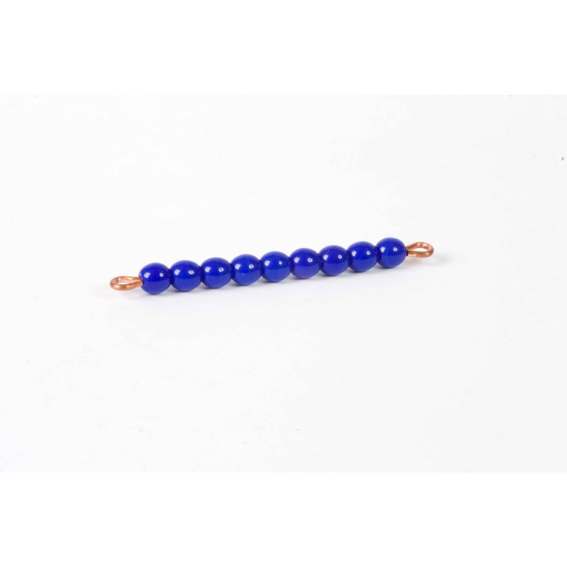 Individual Glass Bead Bar Of 9 : Dark Blue