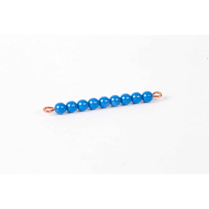 Individual Nylon Bead Bar Of 9 : Dark Blue