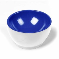 Wooden Cup: White / Blue