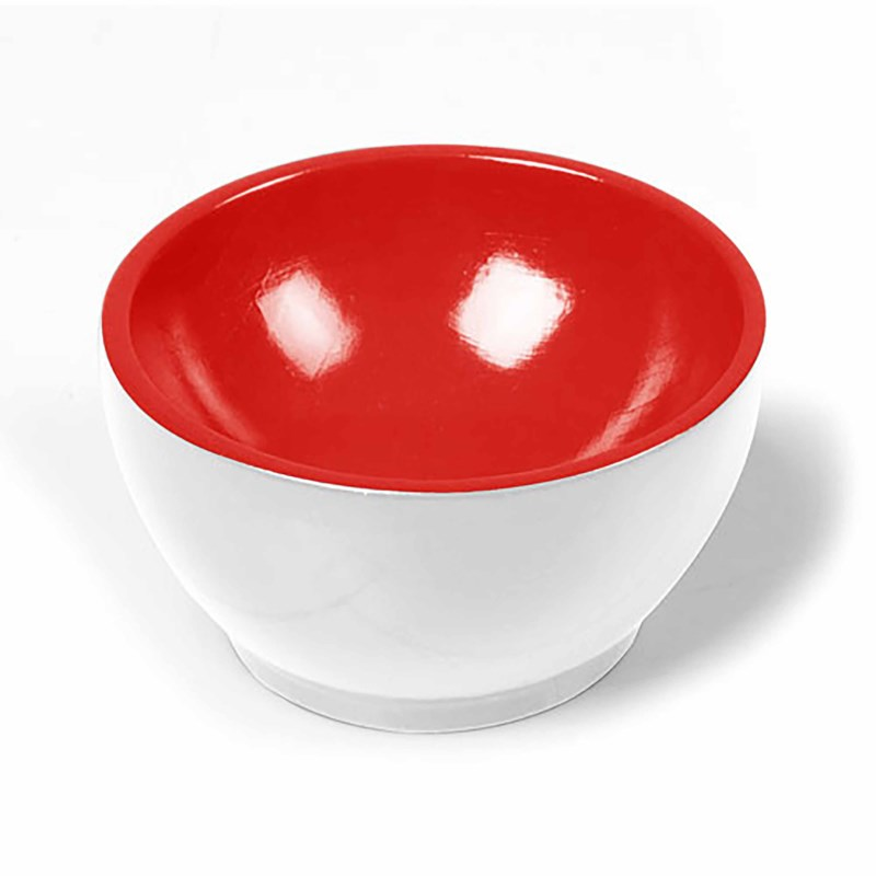 Wooden Cup: White / Red