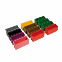Set of 12 Grammar Command Boxes (German version)