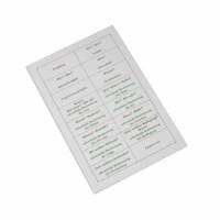 Sentence Analysis Working Chart (German version)