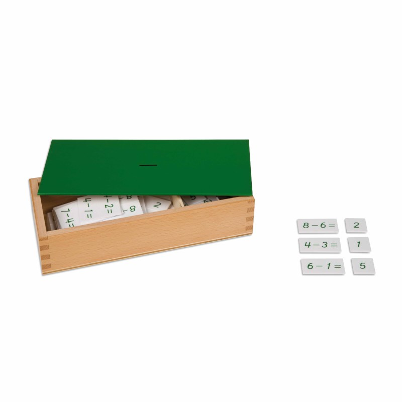Subtraction Equations And Differences Box