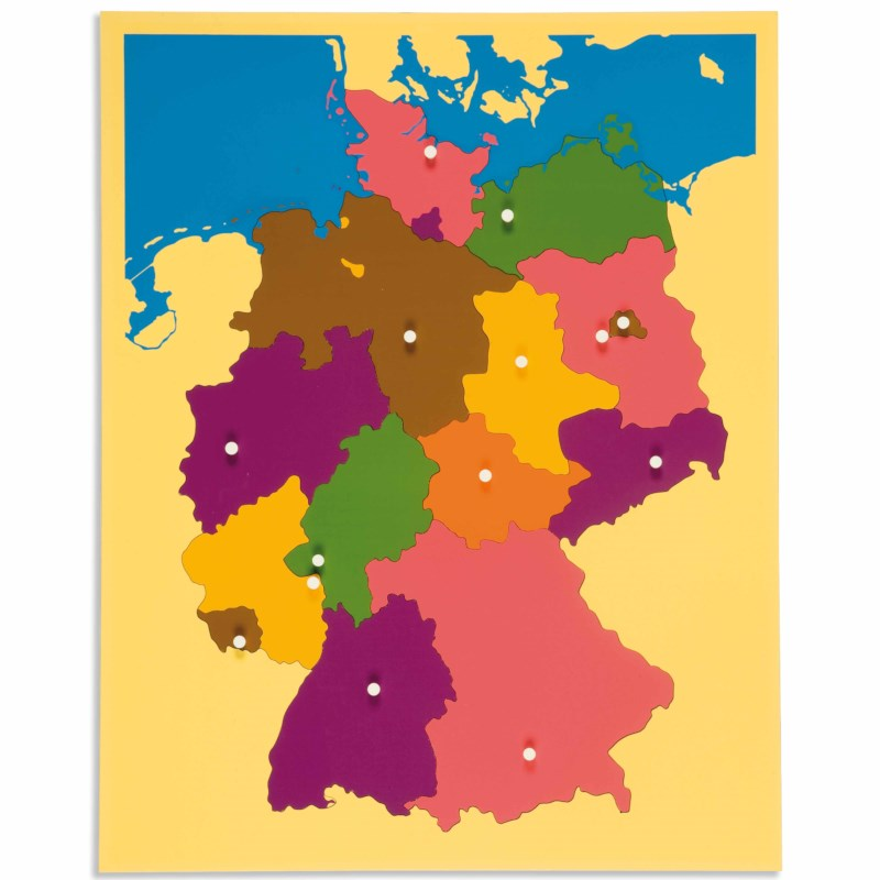 Puzzle Map: Germany