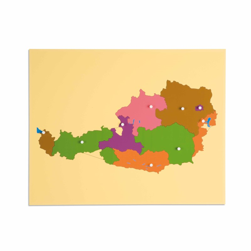 Puzzle Map: Austria