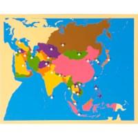 Puzzle Map: Asia