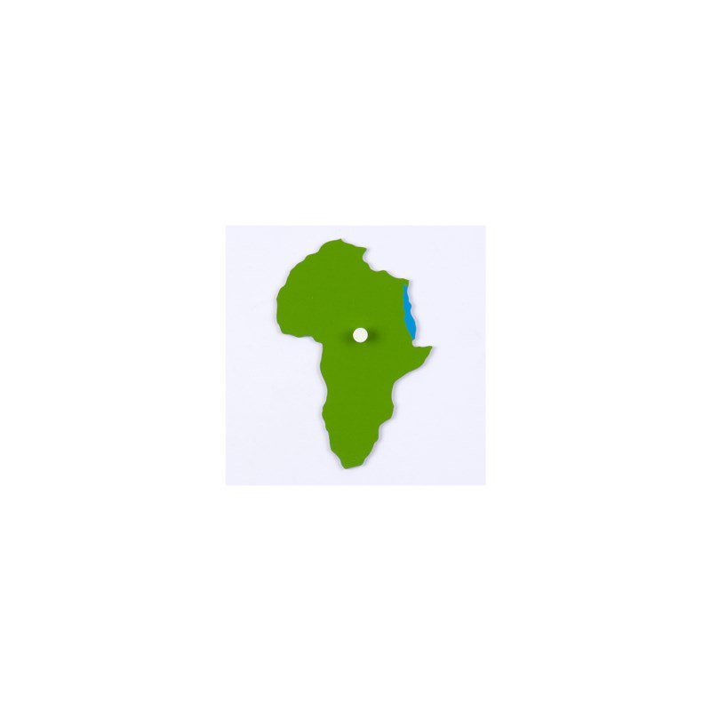 Puzzle Piece Of World Parts: Africa