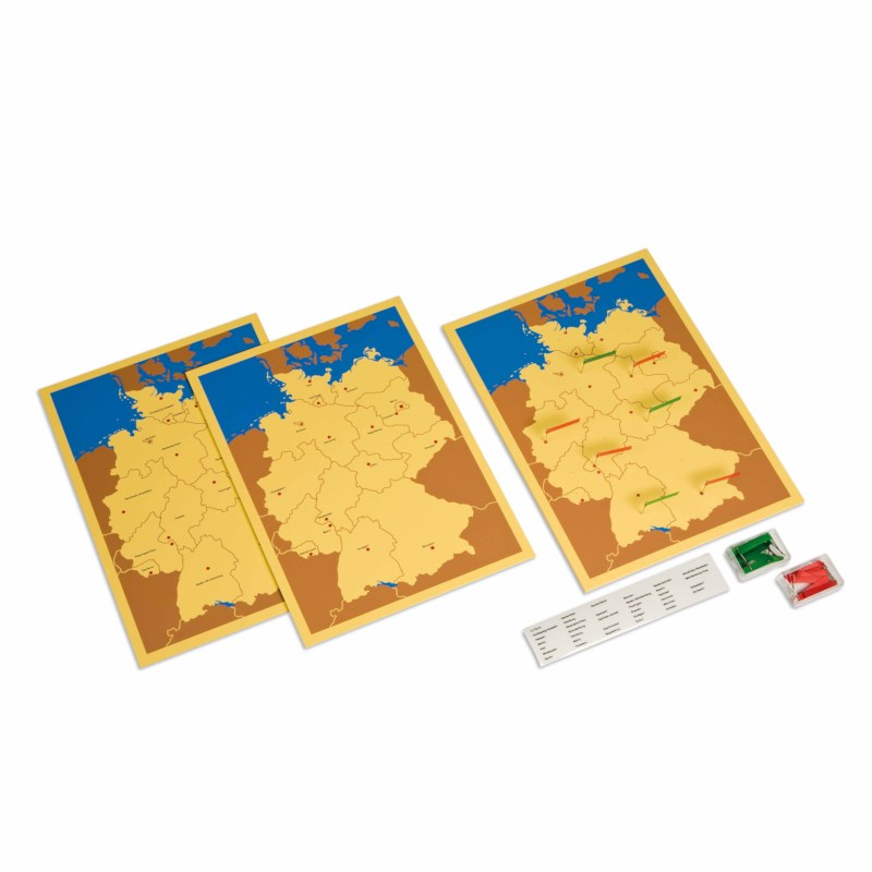 Three Maps of Germany (German version)