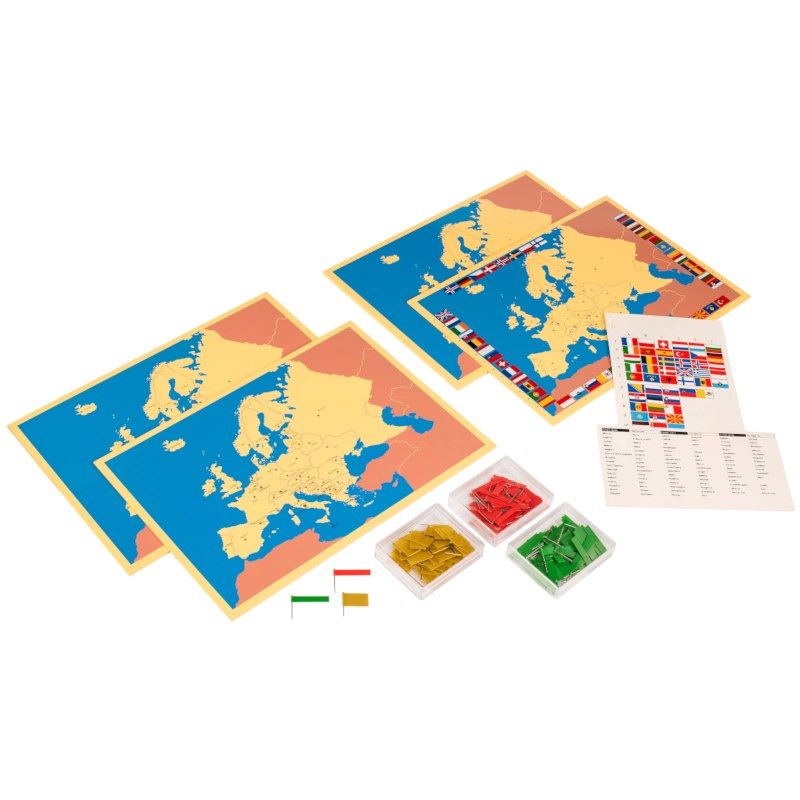 Four Maps Of Europe