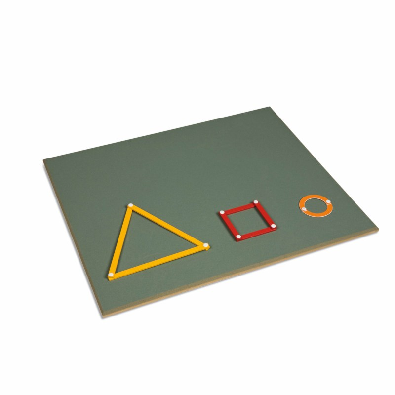 Large Working Board For The Geometric Stick Material