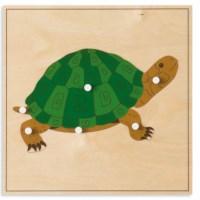 Animal Puzzle: Turtle