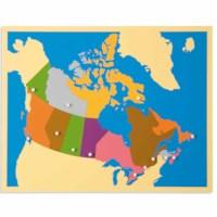 Puzzle Map: Canada