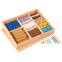 Multiplication Bead Bar Layout Box: Individual Beads Nylon