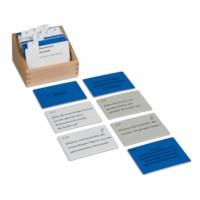 Geometric Cabinet Activity Set (German version)