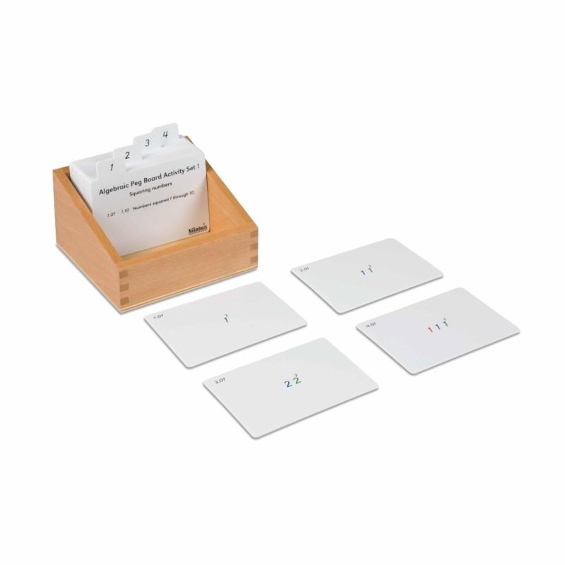 Algebraic Peg Board Activity Set: 1