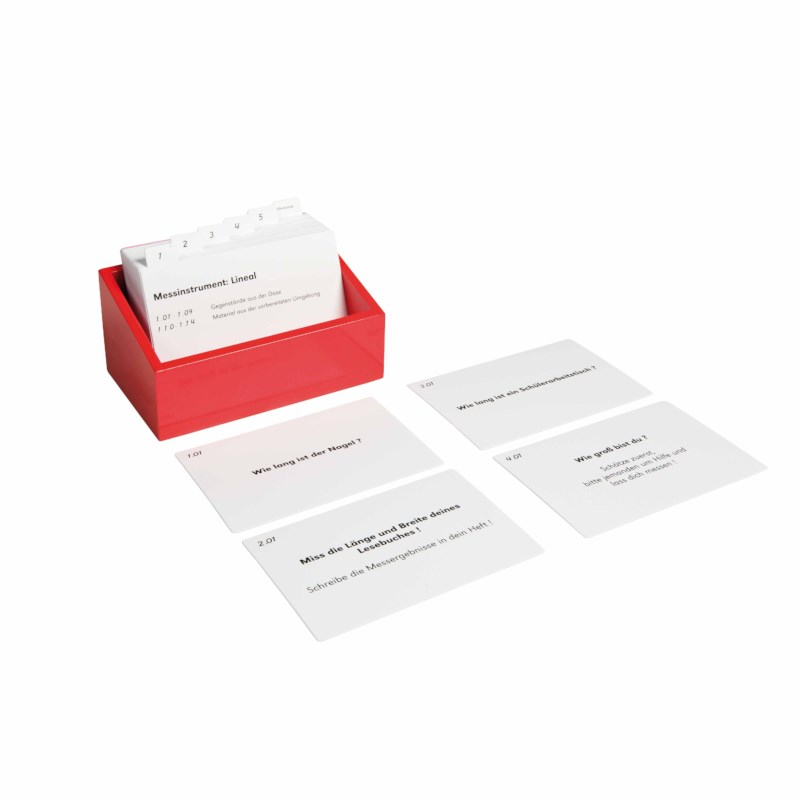 Card Set Measuring Box (German version)