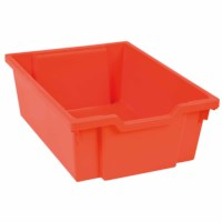 Tray including gliders: red (15 cm)