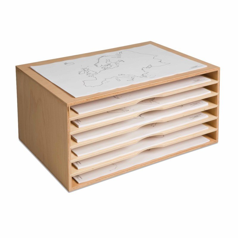 Cabinet For Paper Maps