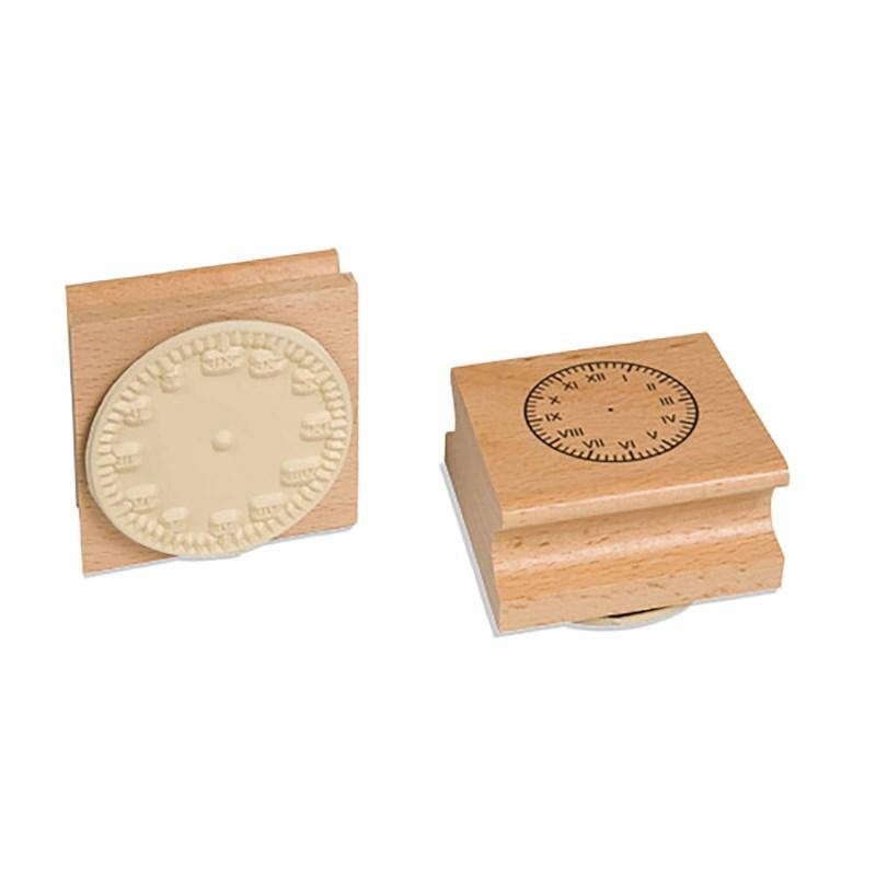 Clock Stamp: Roman Numerals