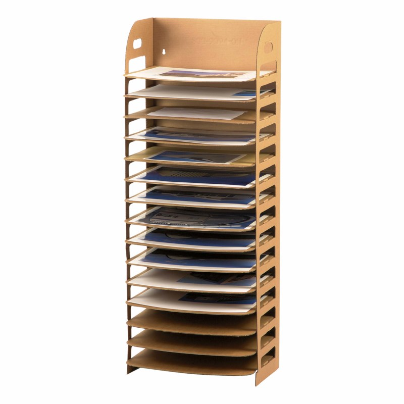 Paint drying rack cardboard