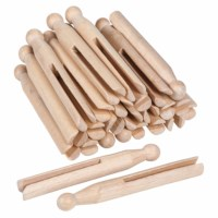 Wooden Clothes Pegs (25)