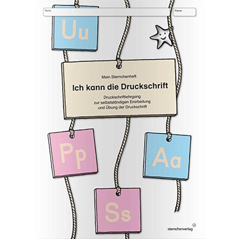 Ich kann die Druckschrift (German version)