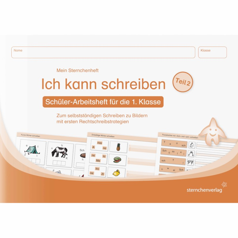 Ich kann schreiben 2 (German version)