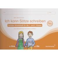 Ich kann Sätze schreiben 1 (German version)